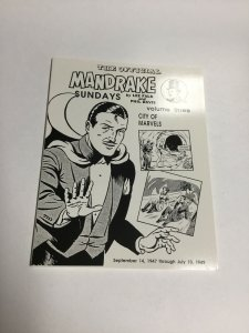 The Official Mandrake Sundays Vol 3 SC Softcover Oversized 9/14/47-7/10/49