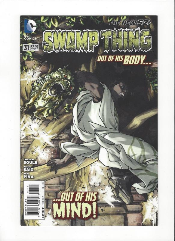Swampthing #31 DC Comics New 52  NM/M