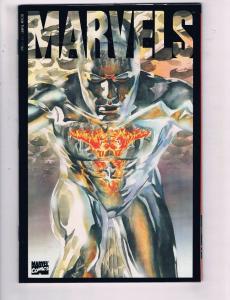 Marvels #3 VF Marvel Comics Comic Book Alex Ross Art Busiek 1994 DE20