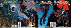 NIGHTWING (1995) 1-4  'Solo Series Debut'  SCARCE!