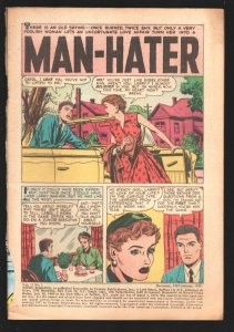Young Romance #91 1957-Feature-Jack Kirby art.-No front cover reading copy-P
