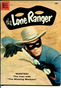 Lone Ranger #119 1958-Dell-Clayton Moore photo cover-VG