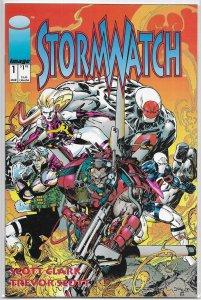 Stormwatch   vol. 1   # 1 VF