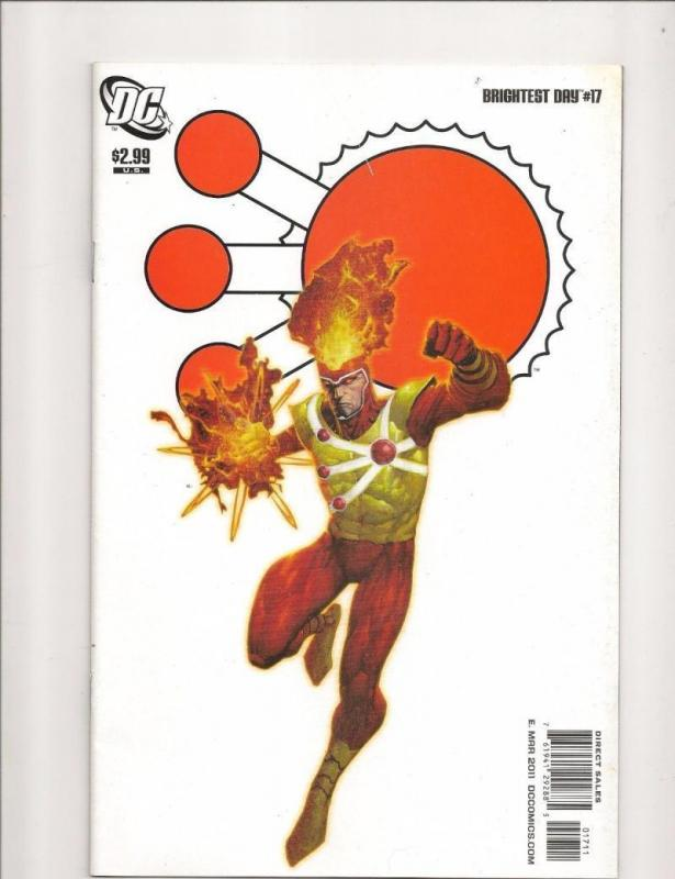 BRIGHTEST DAY #17, NM-, Firestorm, DC, 2010 2011, more in store