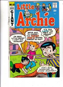 Little Archie #68 (Nov-71) FN Mid-Grade Little Archie, Little Veronica, Littl...