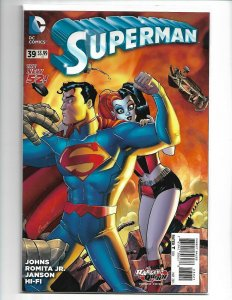 SUPERMAN #39 (2015) DC COMICS HARLEY QUINN VARIANT COVER SPECIAL NM (v20)