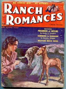 Ranch Romances November 1 1952- Western movies news- Prisoners at Skyline