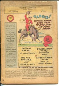 Whiz Comics #103 1948-Fawcett-Captain Marvel-Basil Wolverton Culture Corner a...