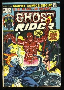 Ghost Rider #2 VG 4.0 1st Daimon Hellstorm!