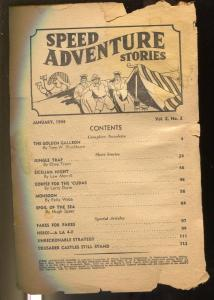 Speed Adventures 1/1944-Trojan-spicy pulp thrills-P