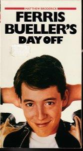 Ferris Bueller's Day Off VHS  Matthew Broderick's Breakout Film !