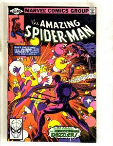 Lot Of 6 Amazing Spider-Man Marvel Comic Books # 203 204 205 206 207 208 GK5
