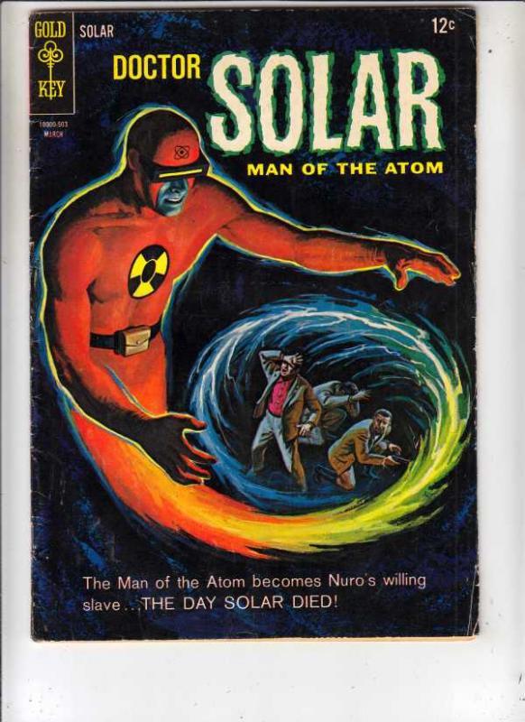 Doctor Solar Man of the Atom #11 (Mar-65) VG/FN+ Mid-Grade Doctor Solar