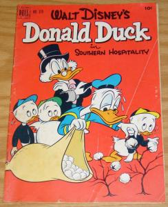 Four Color #379 VG+ donald duck in southern hospitality - uncle scrooge 1952