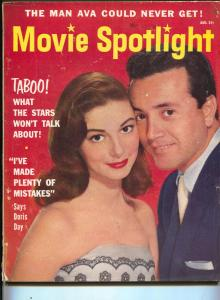 Movie Spotlight-Vic Damone-Pier Angeli-Marilyn Monroe-Aug-1955
