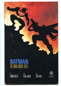 BATMAN THE DARK KNIGHT RETURNS #4  1986-Batman vs. Superman-first print