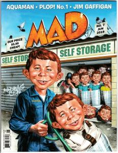 Mad Magazine #7 with PLOP #1 Reprint (DC, 2019) New!