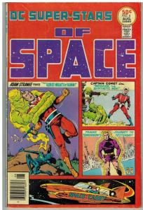 DC SUPER STARS 6 FN Aug. 1976 SUPERSTARS of SPACE