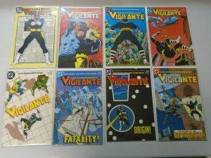 Vigilante set #1-50 + 2 annuals 8.0 VF (1983)