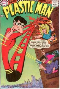 PLASTIC MAN 3 VF   April 1967