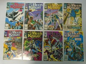 Marc Spector Moon Knight Comic Lot From #1-60 45 Diff Average 8.0 VF (1989-1994)