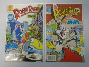 Roger Rabbit #1+2 6.0 FN (1990)