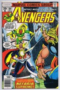 Avengers #166 ORIGINAL Vintage 1977 Marvel Comics