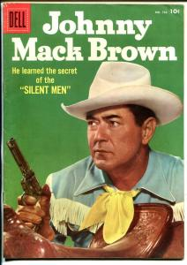 Johnny Mack Brown-Four Color Comics #722 1956-Dell-photo cover-B-Western-VF-