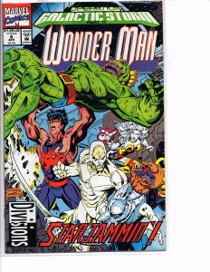 Marvel Comics Wonder Man #8 NM Operation Galactic Storm