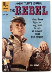 THE REBEL #1076 1960-DELL-JOHNNY YUMA-Mile High Copy! High Grade