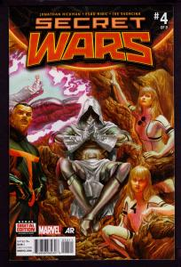 Secret Wars #4 (2015 Series)   9.6 NM+