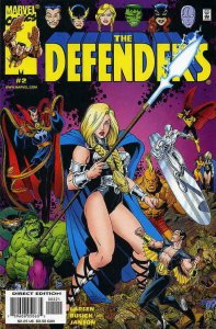 DEFENDERS #2, NM, Hulk, Valkyrie, Doctor Strange, 2001, more Marvel in store