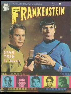 CASTLE OF FRANKENSTEIN #14 1969-STAR TREK-KARLOFF-Brunner FN