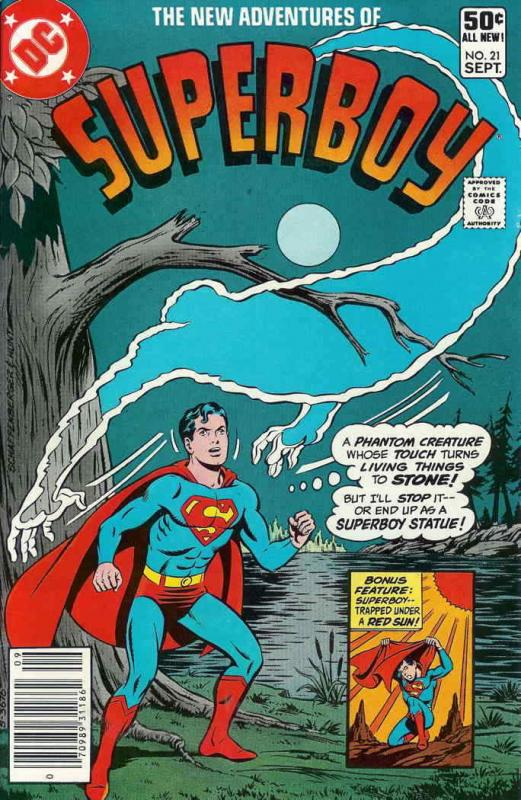 New Adventures of Superboy, The #21 FN; DC | save on shipping - details inside
