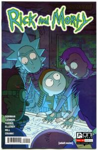 RICK and MORTY #9, 1st, NM, Grandpa, Oni Press, from Cartoon 2015, more in store