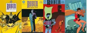 ROBIN YEAR ONE (2000) 1-4  the COMPLETE series!