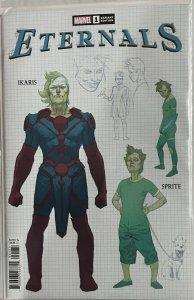 Eternals Vol.5 #1 RI-A 1 For 10 Esad Ribic Design Variant Cover (2021 Marvel)