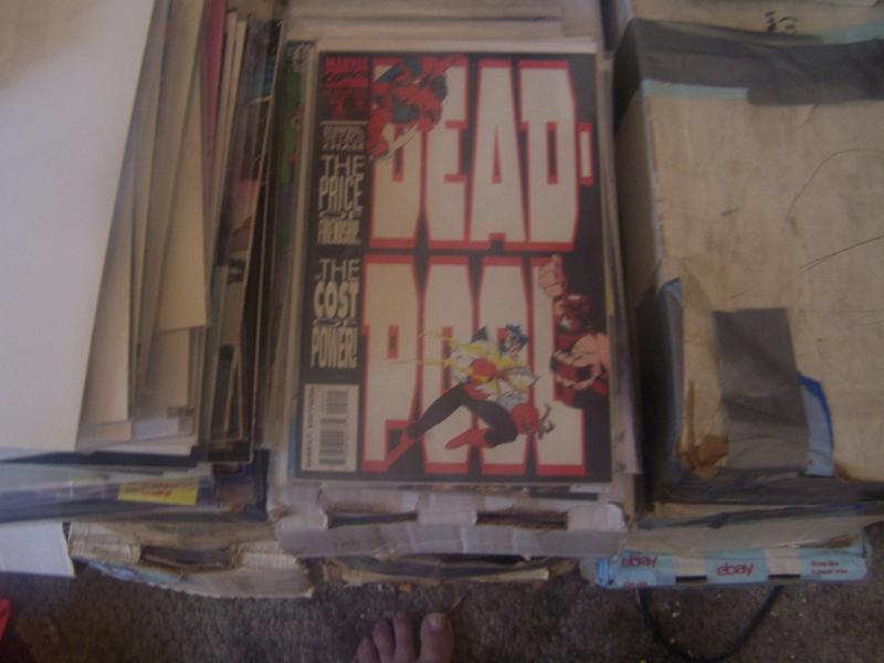 Deadpool #2 (Sep 1993, Marvel) juggernaut  black tom cassidy