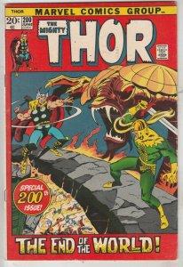 Thor, the Mighty #200 (Jun-72) VF+ High-Grade Thor