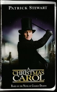 A Christmas Carol VHS  Star Trek Picard's Patrick Stewart !
