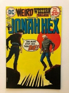 DC Weird Western Tales~JONAH HEX Oct #24 1974 VERY FINE  (A164)