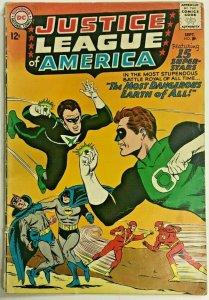 JUSTICE LEAGUE OF AMERICA#30 VG 1964 DC SILVER  AGE COMICS