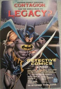 BATMAN LEGACY Promo poster, 11 x 17, 1996, Unused, more in our store