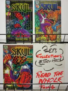 SKUL (1996 VIRTUAL COMICS) 1-3