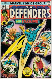 Defenders(vol. 1) # 28 Guardians of The Galaxy ! 1st Full app. of Starhawk