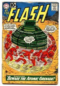 FLASH #122 DC comic book ORIGIN THE TOP-Silver-Age
