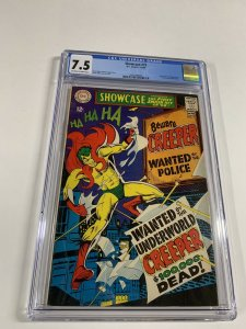 Showcase 73 Cgc 7.5 Ow/w Pages 1st Creeper Dc Comics Silver Age