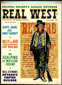 REAL WEST JANUARY 1965-CHARLTON-BILLY THE KID-VG