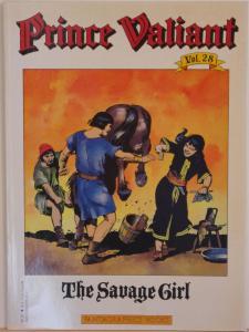 PRINCE VALIANT #28, SC, VF, 1st print, 1985, Hal Foster, Fantagraphics