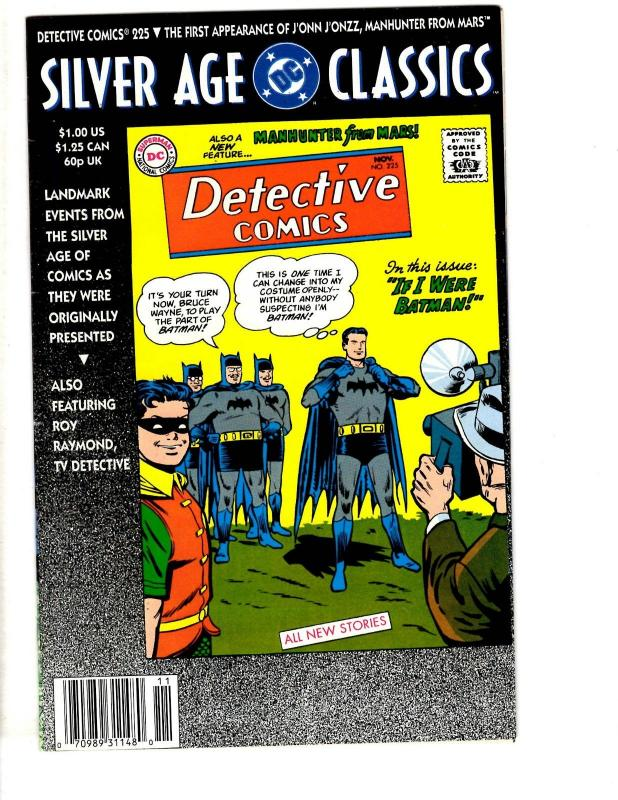 9 DC Comics Detective 225 (Rep) Legion 7 Superman AN 4 70 Doomsday 2 3 +MORE TP3